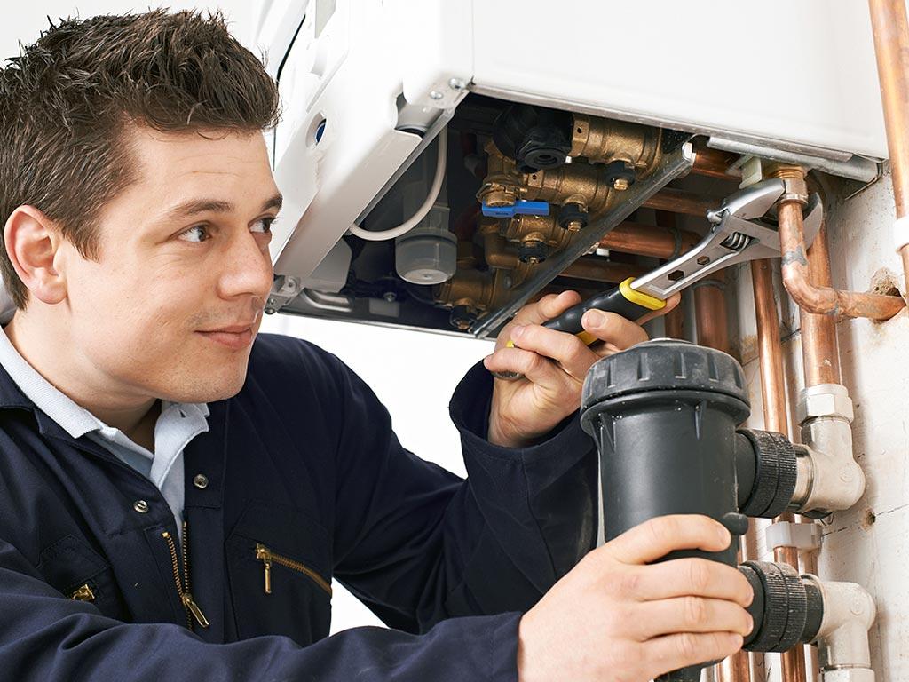 Fixing Boiler Leakage